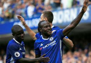 The Nigerian scored his first English Premier League goal for Chelsea in four year. Goal brings you his best pictures against the Clarets. By:Shina Oludare