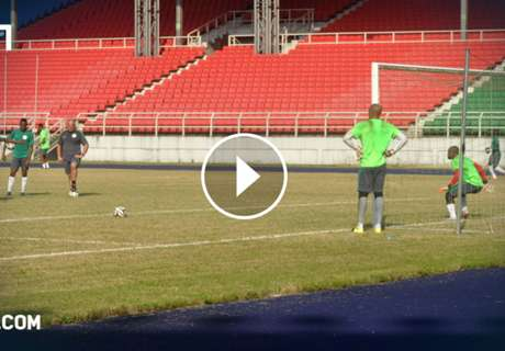 VIDEO: Nigeria squad jeer Mikel