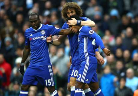 Victor Moses triumphs over Iheanacho