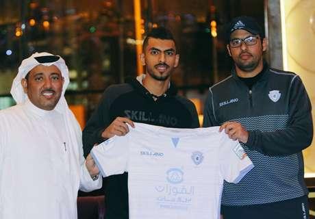 Al Baten sign Al Ahli's Mohammed Al Harethi
