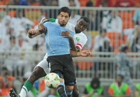Amistoso: Arábia Saudita 1 x 1 Uruguai