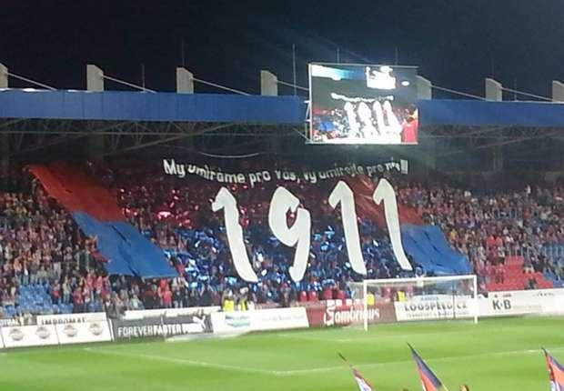 Viktoria Plzen Fans Europa League