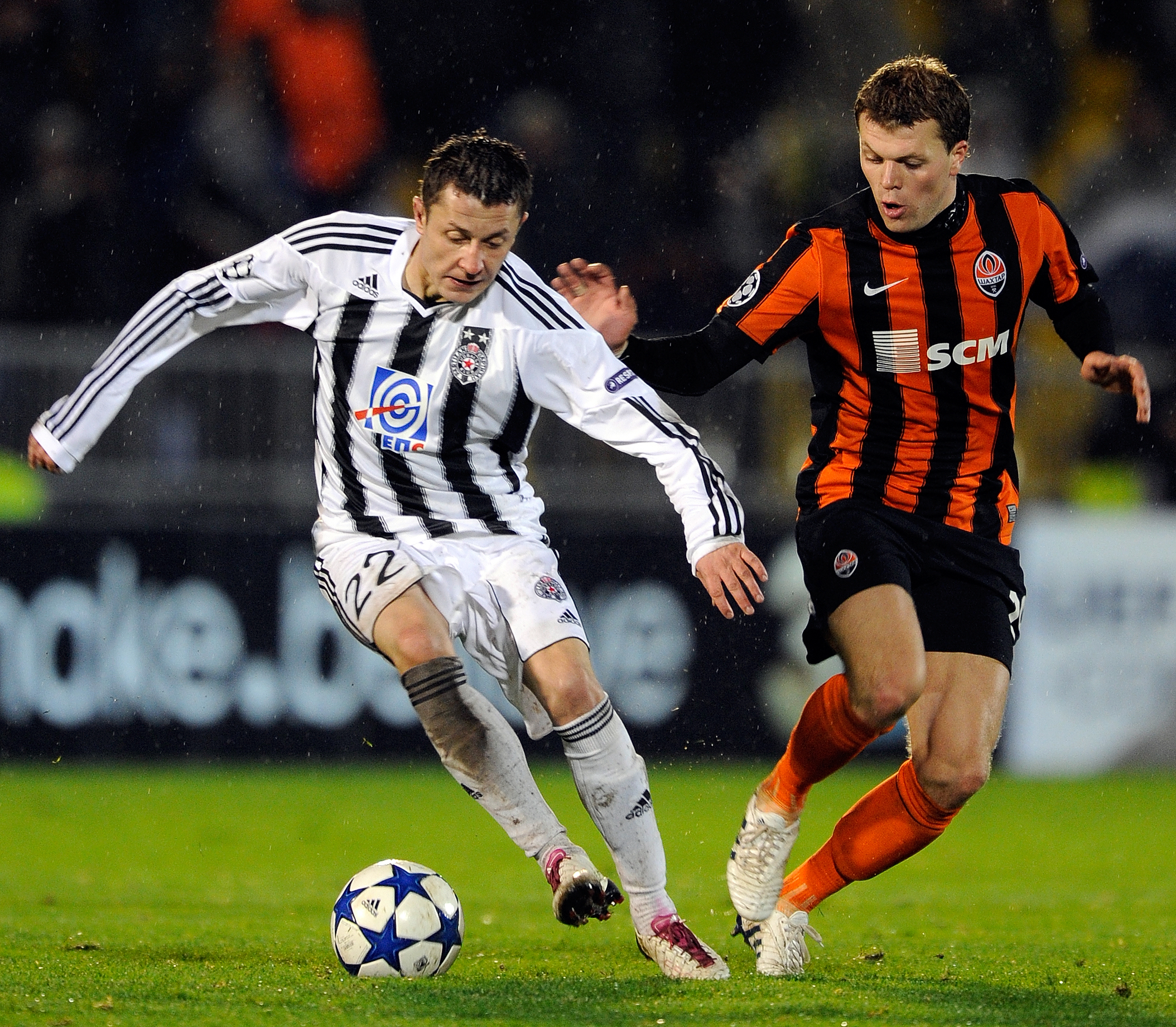 Epl Matches Live On Rcti Indonesia Tv Channel: Partizan VS Sahtjor 2010