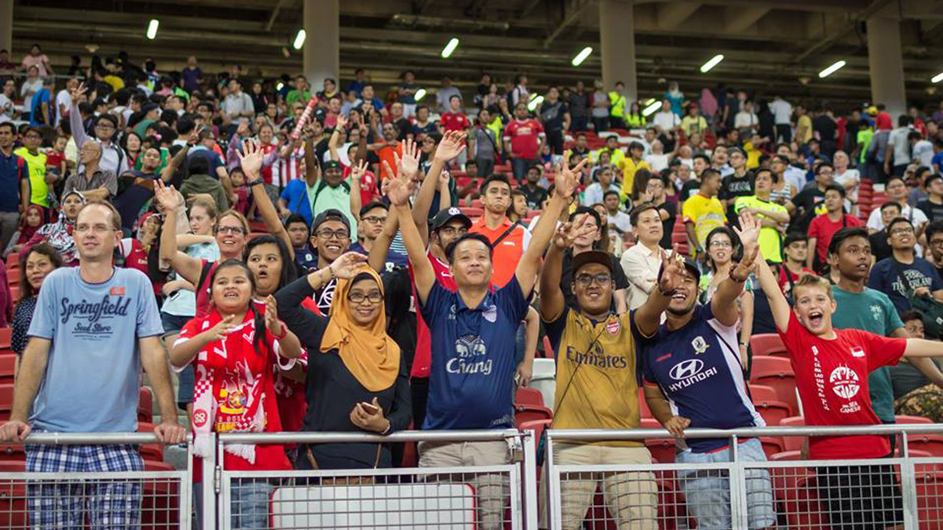 Tampines Rovers FC fans