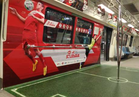 New S.League train with SMRT partnership