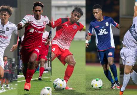 Top five S.League players this season so far