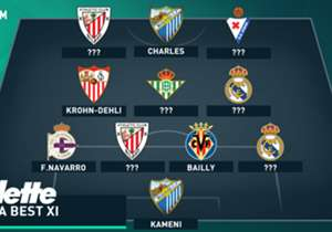 Goal picks the best XI players that stood out in the past week's La Liga action.