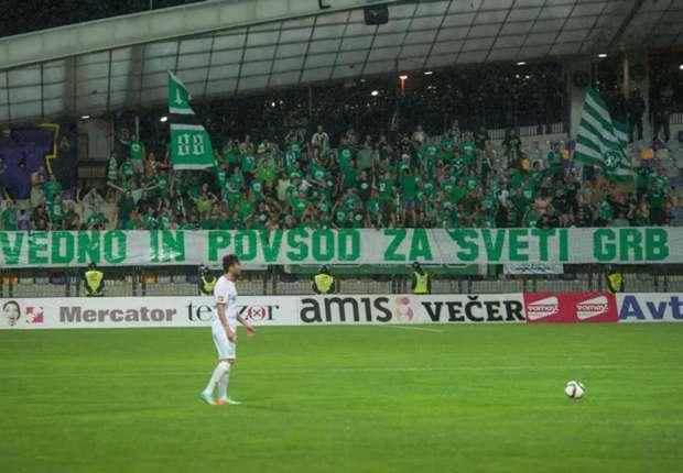 Mimoun Green Dragons Maribor Olimpija Ljubljana Prva liga 16082015 Ljudski vrt Slovenian league SNL