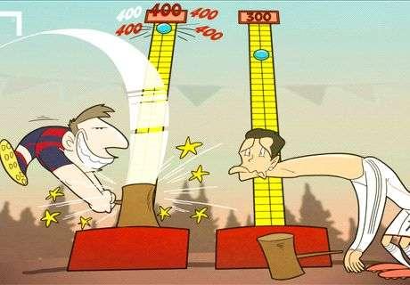 Messi reaches 400 Barcelona goals