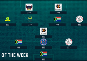 Masuluke stole the limelight with his wonder strike against Bucs, while Manzini stunned Amakhosi in Port Elizabeth this past weekend, but who else made our SA Team of the Week?
