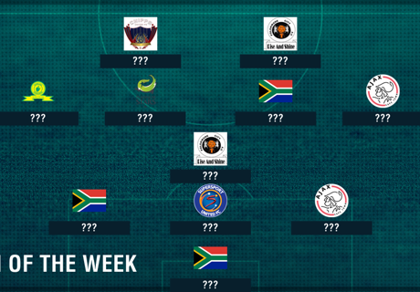 South Africa Team of the Week