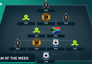 There was plenty of competition for a spot in this week's SA Team of the Week an action-packed weekend that saw all the 'Big Three' win their matches...