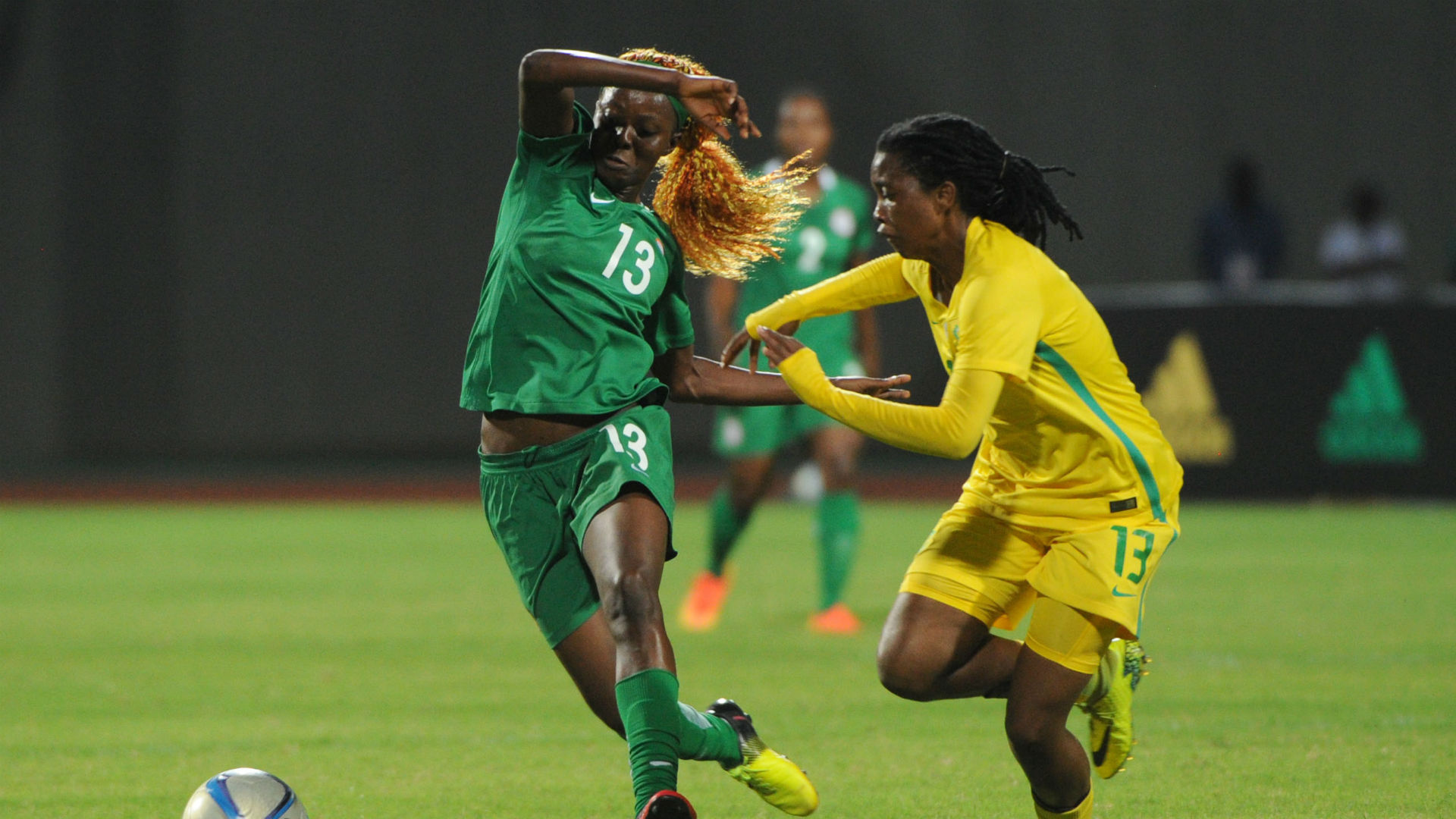 AWCON 2016: Buhari Hails Falcons As They Qualify For Finals