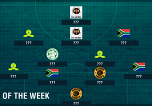 Itumeleng Khune stole the limelight for Amakhosi, while Tiyani Mabunda produced one of his fine performances for the Brazilians this past weekend, but who made the cut in our SA Team of the Week?