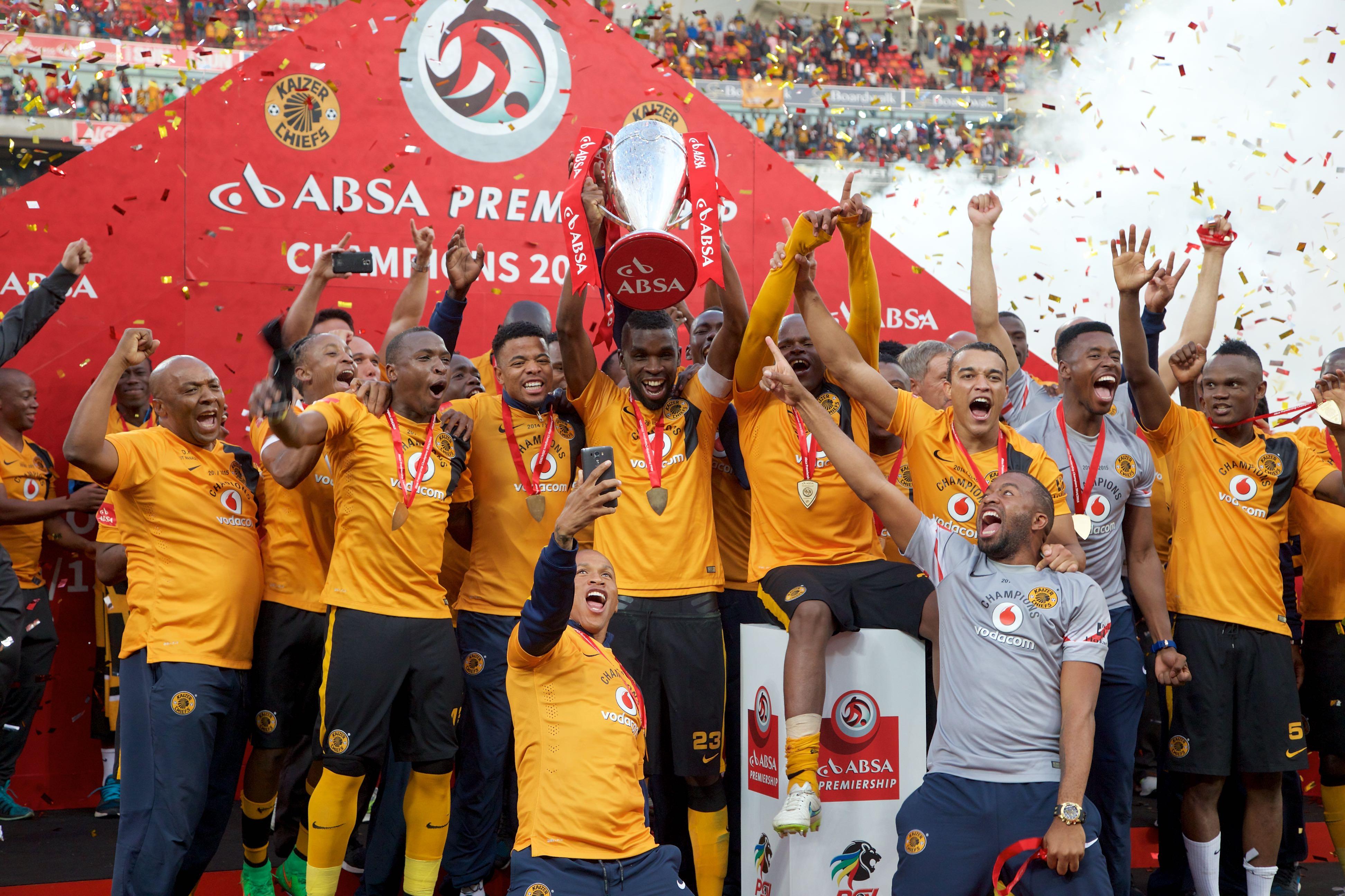 Kaizer Chiefs Fc: Kaizer Chiefs Players Celebrate