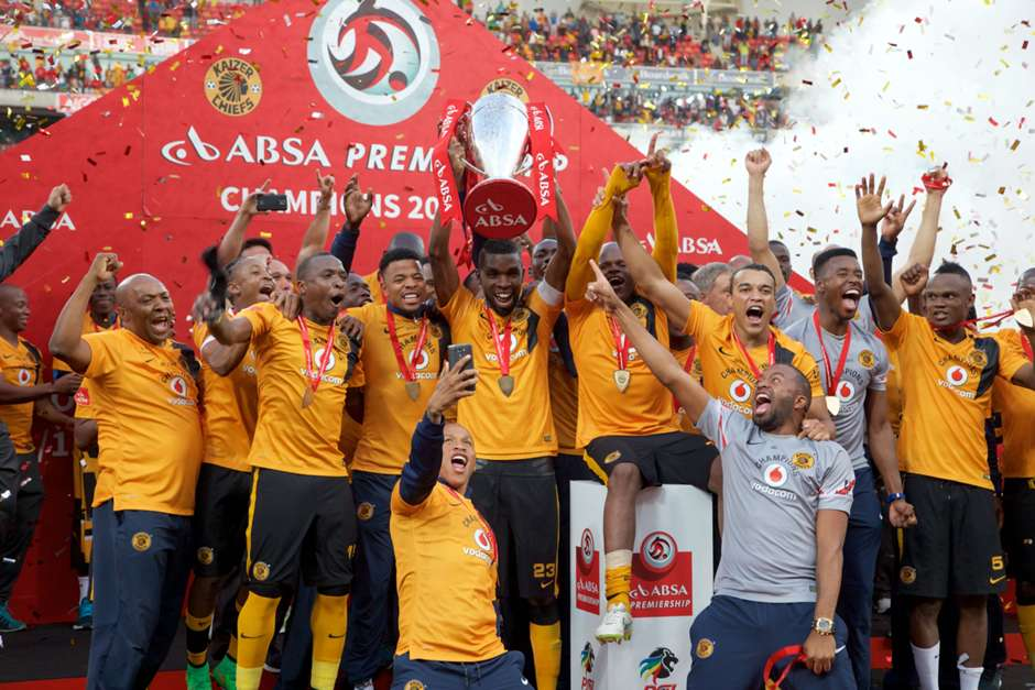 gallery kaizer chiefs trophy presentation and celebrations