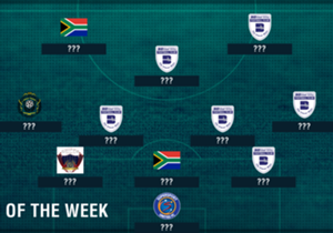 Klate stole the show with two goals as the Clever Boys dismantled Sundowns in the MTN8 final, but who else made our SA Team of the Week?