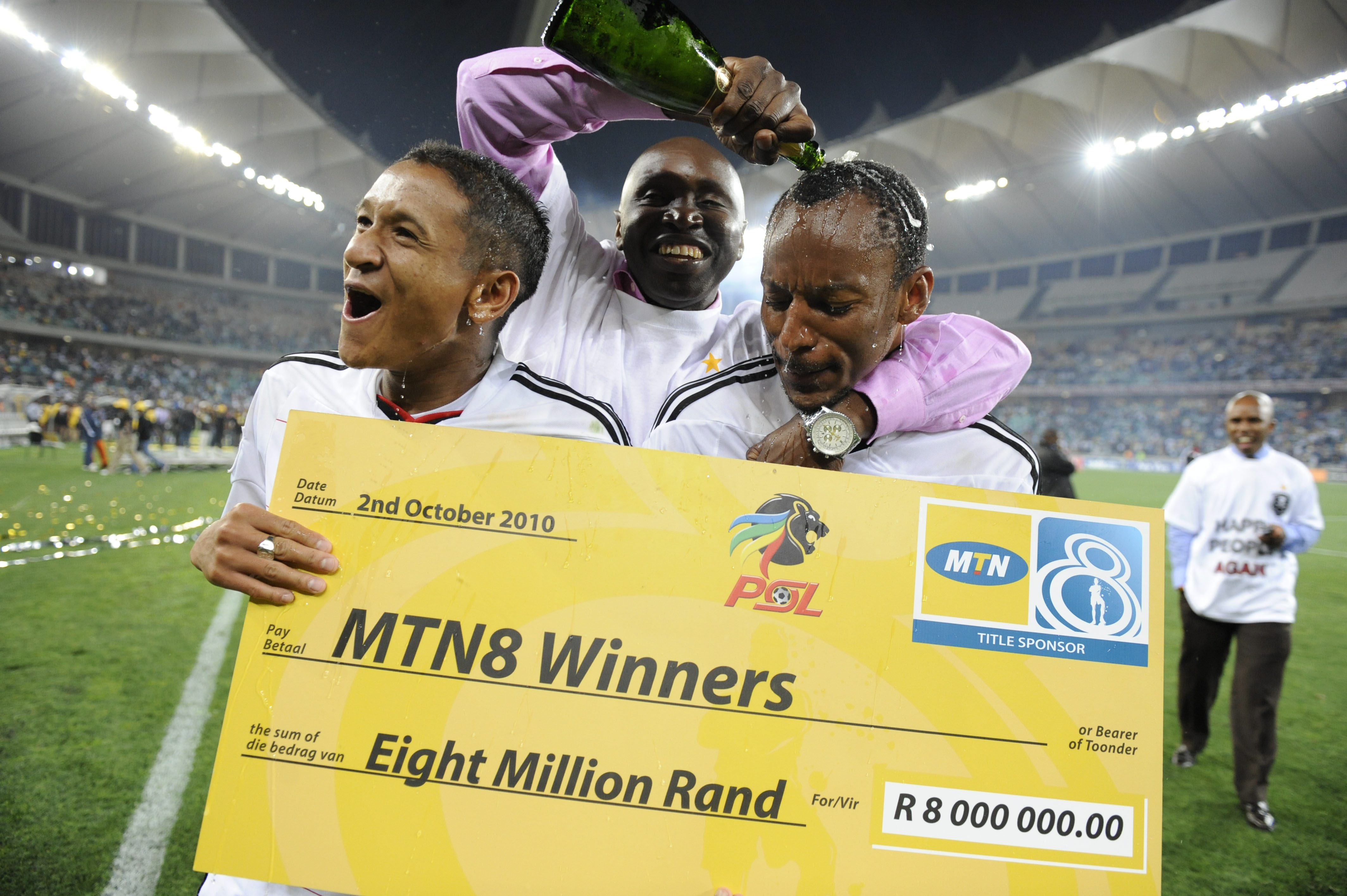 Orlando Pirates MTN8 winners