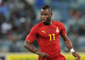 He has been capped 49 times for the Black Stars, scoring 12 goals. He signed a three-year contract with Deportivo Alaves on 17 July 2017