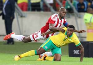 Goal takes a look at the 2017 Afcon qualifier between Bafana Bafana and Gambia, which was the first ever game between the nations, taking place at the Moses Mabhida Stadium in Durban on the 13th of June 2015.