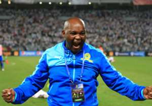 Mamelodi Sundowns head coach Pitso Mosimane expressed his emotions at the end of the game as his side secured the 2016 Caf Champions League title with a 3-1 aggregate win over Egypt's Zamalek on Sunday night.