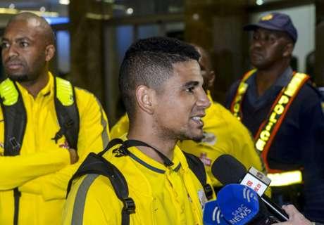 Bafana name starting XI vs. Egypt
