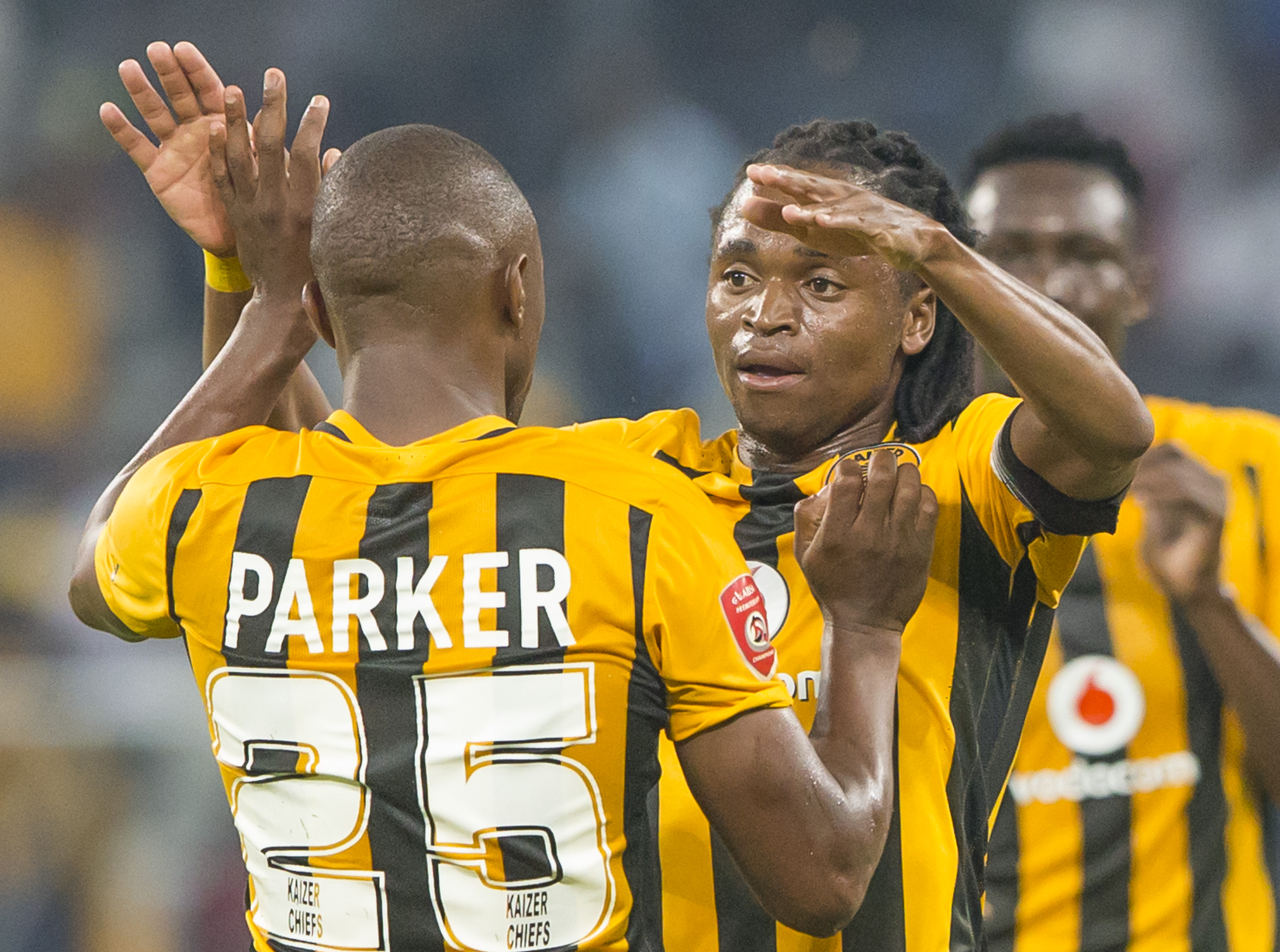 Bernard Parker and Siphiwe Tshabalala - Kaizer Chiefs