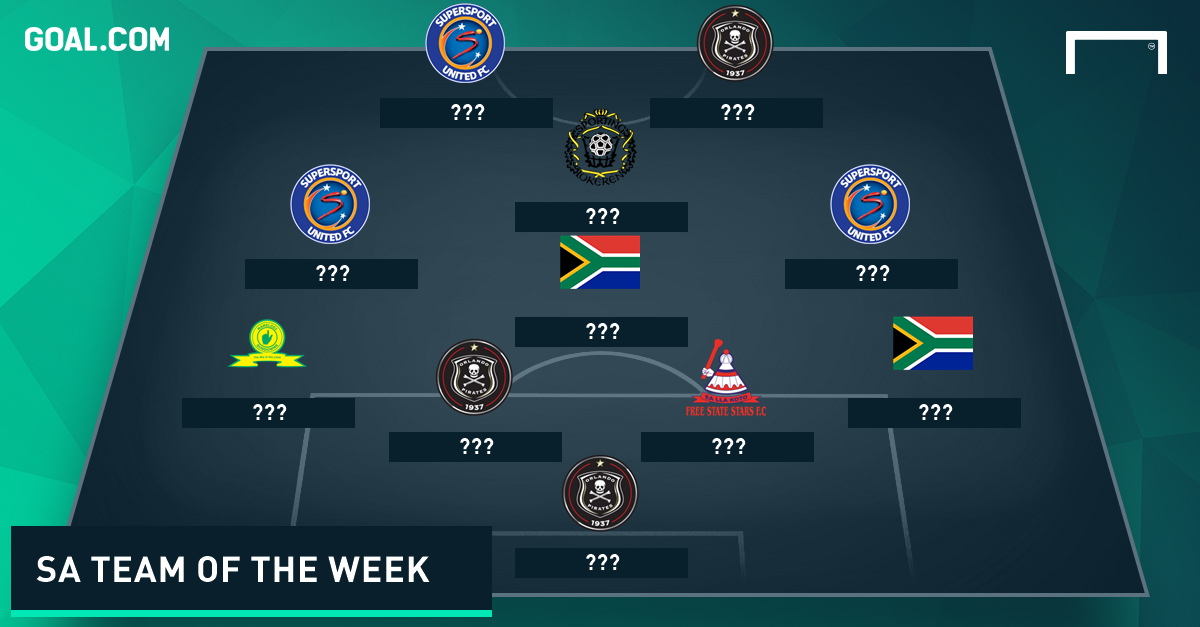 sa team of the week april 25   goal