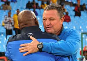 Pitso Mosimane and Gavin Hunt have both been to many cup finals before, but how did they fare in those finals as head coaches? Goal takes a look at their managerial records in cup finals...