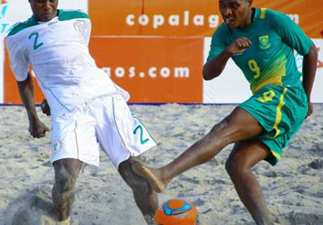 Caf set date for beach soccer draw