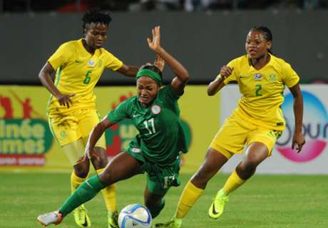 'African women's football is improving'