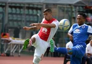 Toriq Losper of Ajax against SuperSport