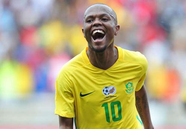 Thulani Serero of Bafana