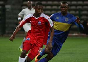 Shandu in action against Cape Town City