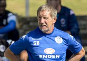 SuperSport United head coach Stuart Baxter