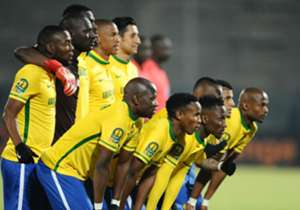 Mamelodi Sundowns needed a single point to seal their place in the semi-finals.