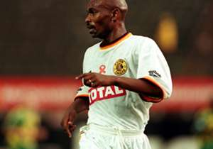 Linda Buthelezi in his days as a Kaizer Chiefs player