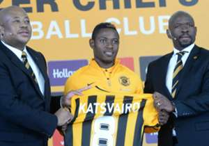 Mitchell Katsvairo of Kaizer Chiefs