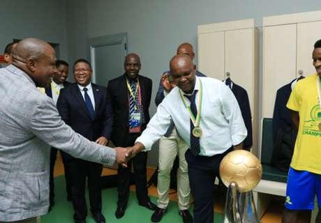 Pitso Mosimane earns Dr Khoza praise