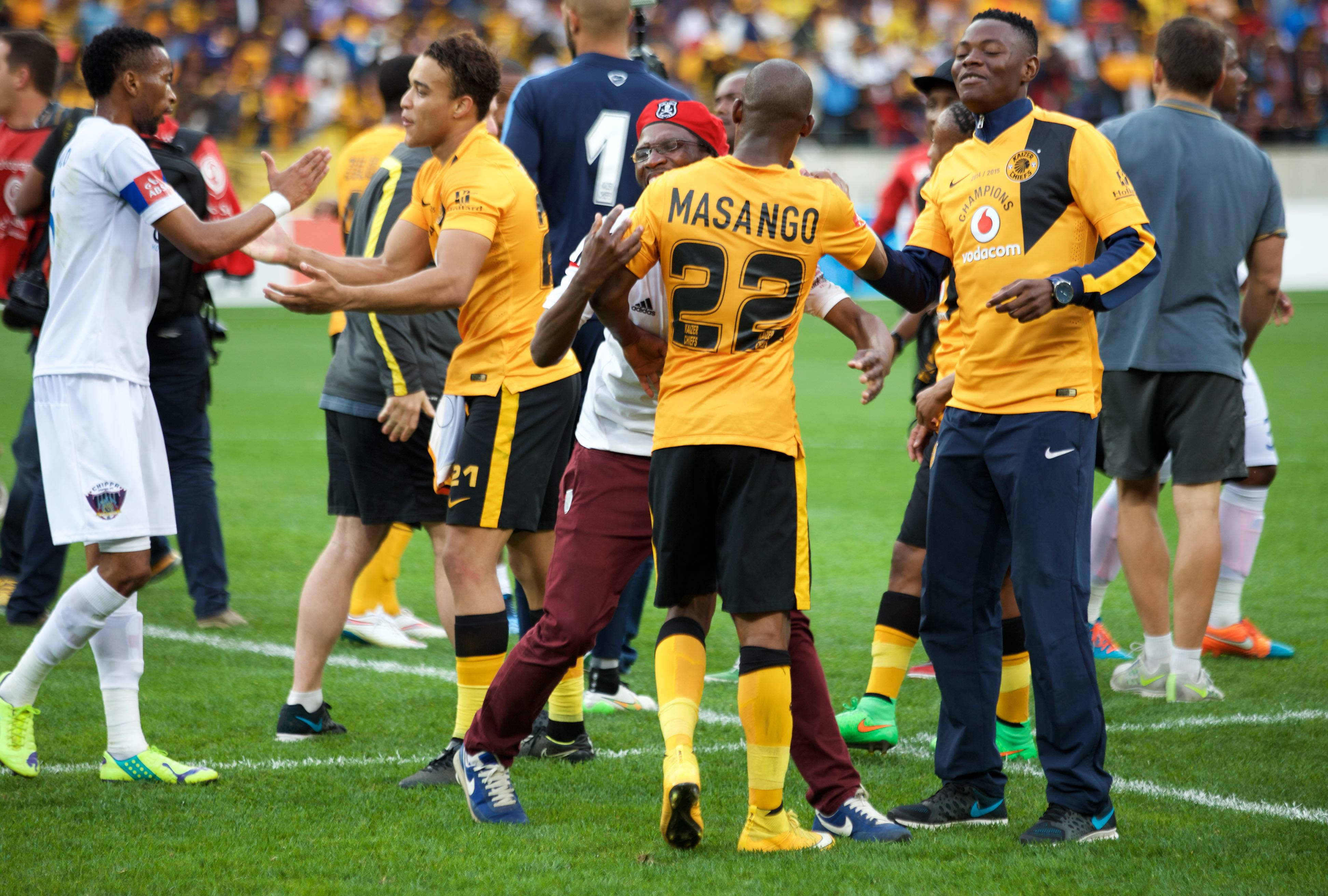 Kaizer Chiefs: Kaizer-chiefs-midfielder-mandla-masango