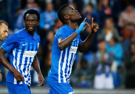 Samatta scores two in Belgium