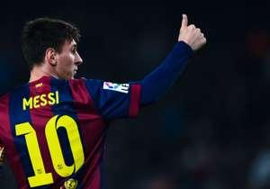 Lionel Messi trifft in der Champions League regelmäßig