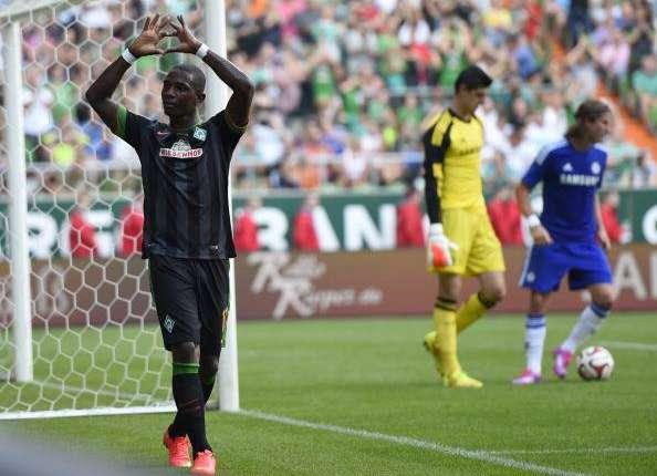 Werder Bremen 3-0 Chelsea: Drogba y Courtois debutan con derrota