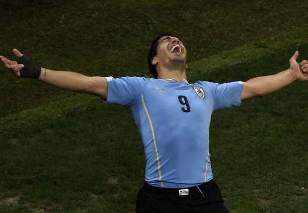 Luis Suarez dicintai Uruguay.