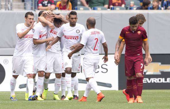 Inter festejó ante Roma