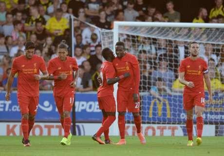 FT: Burton 0-5 Liverpool