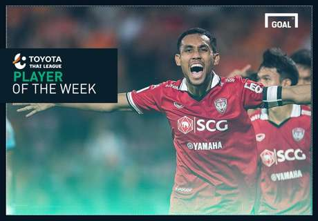Toyota Thai League Player of the Week 6 : ธีรศิลป์ แดงดา