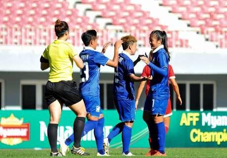 ประเดิมสวย! ชบาแก้ว อัด ฟิลิปปินส์ 4-0 ชิงแชมป์อาเซียนหญิง