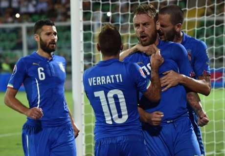 REPORT: Italy 1-0 Bulgaria