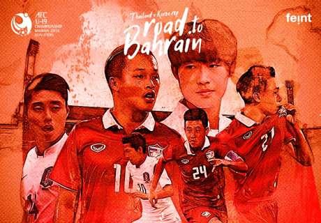 LIVE! AFC U-19 : ไทย - เกาหลีใต้